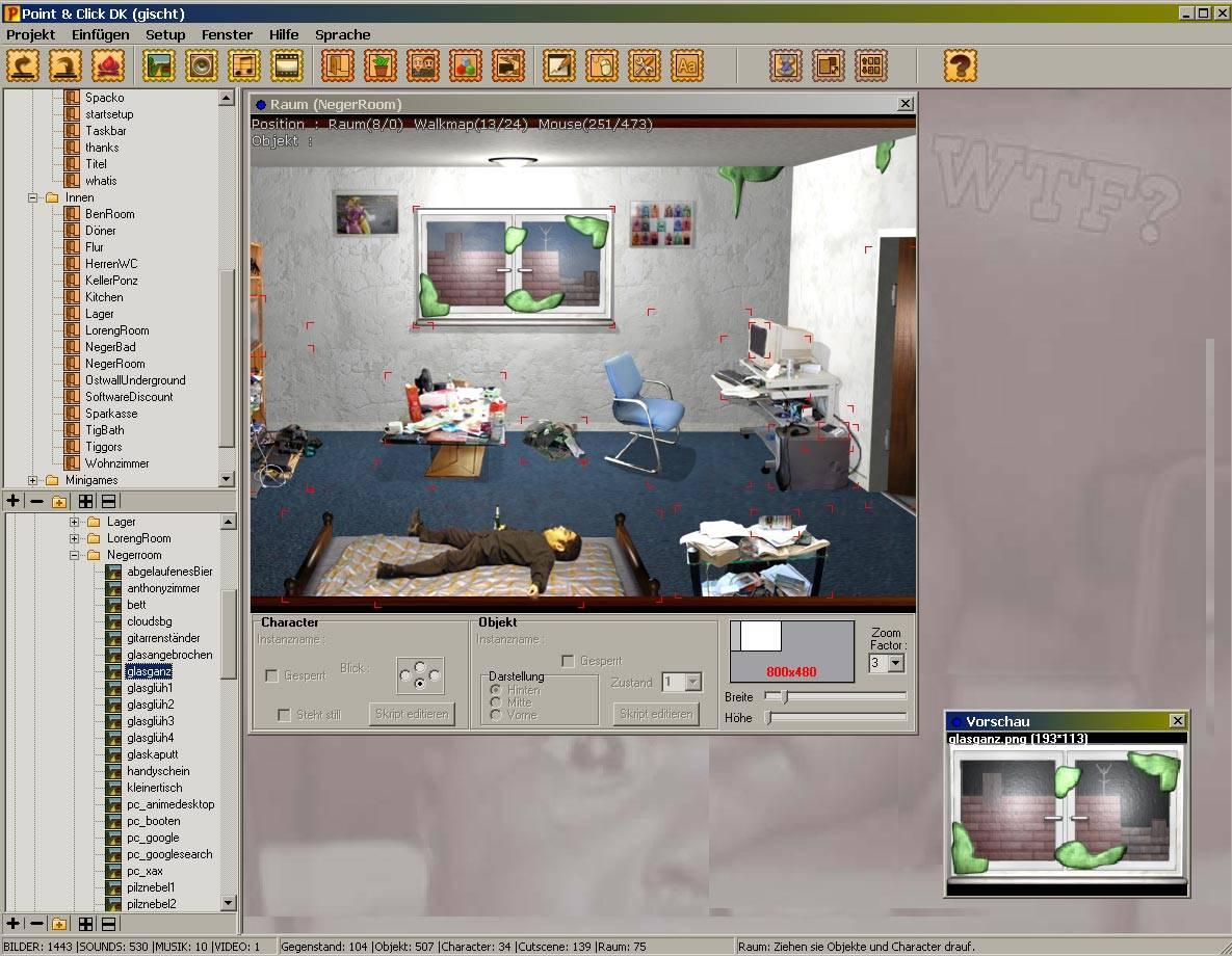Point&Click Dev Kit - Конструкторы игр - Файлы для игроделов - Создание игр