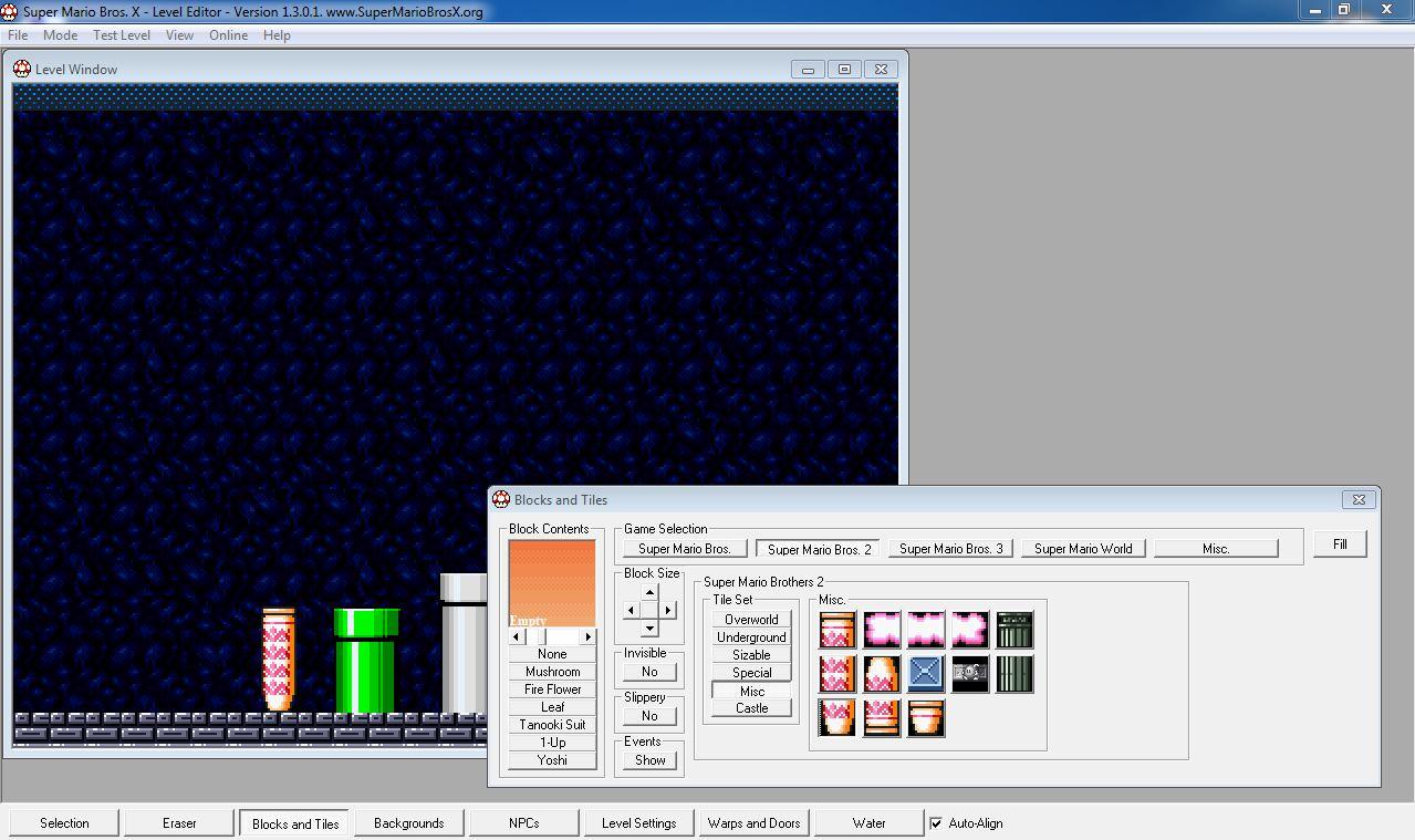 SMBX - Конструкторы игр - Файлы для игроделов - Создание игр