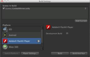 Конкурс для разработчиков Flash-игр на Unity 3.5