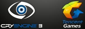 Логотипы Crytek м Tencent