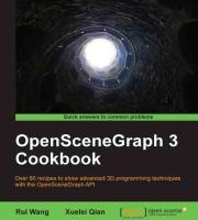 Обложка OpenSceneGraph Cookboox
