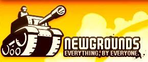 Логотип Newgrounds