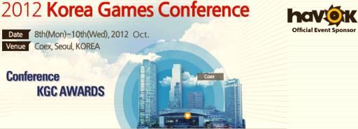 Korean Games Conference 2012