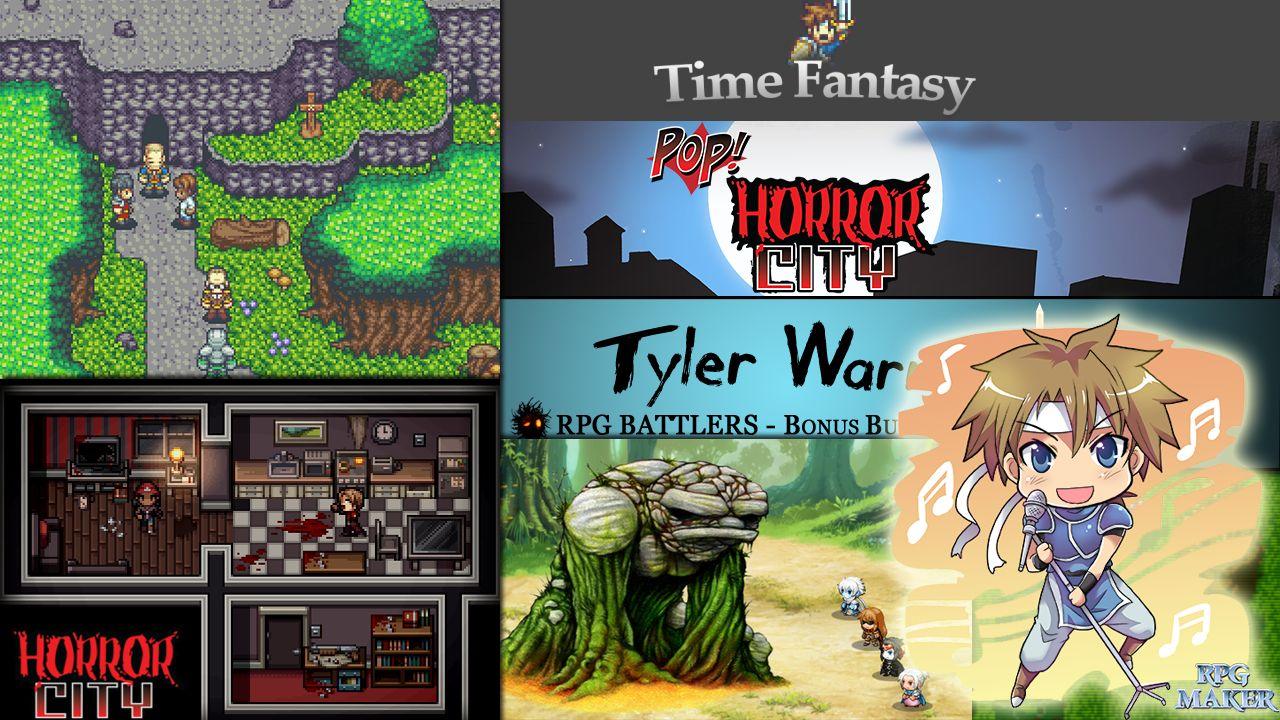 Обновление пакетов ресурсов для RPG Maker MV - 28 Февраля