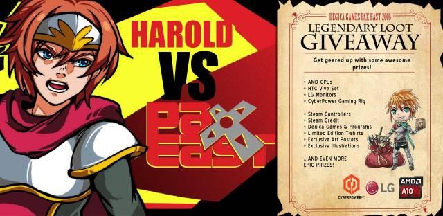 Harold Vs PAX East