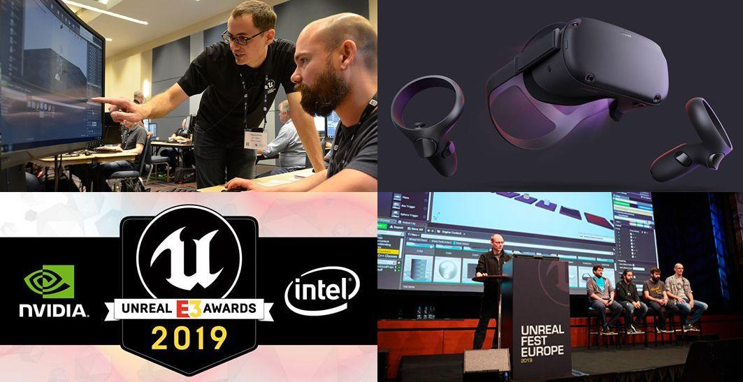 Записи Unreal Fest Europe, E3, VFX и VR - 8 Июня 2019