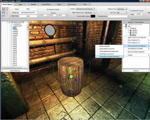 SunBurn Game Engine