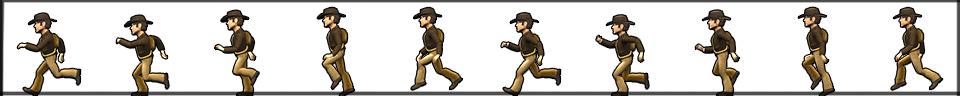XNA для начинающих: рисование спрайтов, анимация и бег. Часть вторая. - Создание игр - Каталог статей - Создание игр