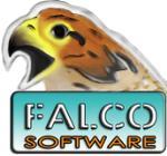 Логотип FalcoSoftware